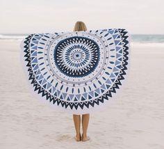 The Majorelle - The Original Roundie Beach Towel - The Beach People