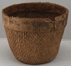 antique chinese  bamboo  furniture | Antique Asian Furniture: Chinese Willow Basket from China