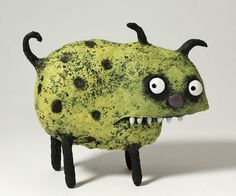 NELLY the grumpy pet by blobhouse on Etsy, $95.00