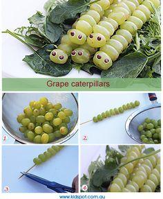 Grape Caterpillars Recipe