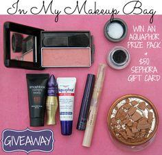 In My Makeup Bag // Aquaphor & $50 Sephora Gift Card Giveaway   http://itsgravybaby.com/2013/09/makeup-bag-favorites/#comment-51997