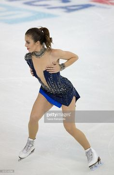 News Photo : Ashley Wagner of USA competes in the ladies short...