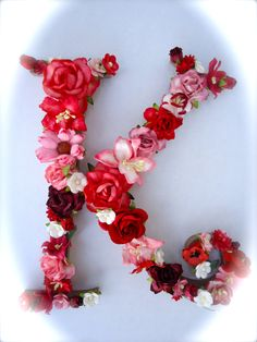 Custom Floral Letter Monogram - Paper Flower Initial in Your Choice of Colors Flower Letters, Monogram Letters, Cute Backgrounds For Iphone, Paper Quilling Designs, Beautiful Flowers Wallpapers, Shabby Chic Crafts, Wedding Table, Decor Wedding, Bridal Shower Decorations