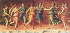 """►Greek Mythology: """"The Muses"""" / Poem: """"Erato, the Greco-Muse of Love Poetry"""", by Eva Xanthopoulos⭐️✔️. Greek Artifacts, Ancient Artifacts, Clio Musa, Poesia Coral, Greek Dancing, Lyric Poetry, Daughter Of Zeus, Daughters, Les Religions"""