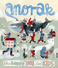 illustration / Anorak magazine