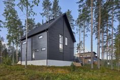 The Honka Ink is a youthful vision of an ecological and healthy log home nested in nature.