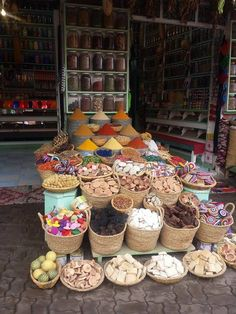 Colourful spices at the Moroccan Medina Stepping Stones, Morocco, Spices, Luxury, Outdoor Decor, Color, Home Decor, Stair Risers, Spice
