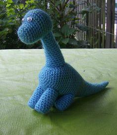 Dudly Dinosaur - Free by Marleen Hartog of Leentje's CreaCorner