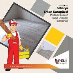 Sakarya'dan Erkan Karagüzel'in Peli Parke Comfort Kireçli-Dişbudak uygulaması….