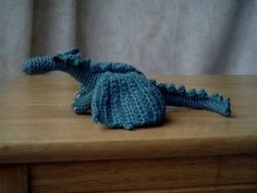 My fierce but friendly really Dragon - with pattern! - CROCHET