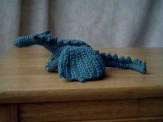 My fierce but friendly really Dragon - with pattern! - CROCHET