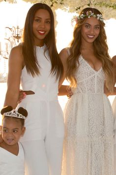 Beyoncè at Tina & Richard Lawson's Wedding April 12, 2015