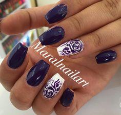 My work #nail#nailpolish#gelish#manicure#pedicure#naildesigner#nailstyle#nailart#fashion#ahvaz#salon#nails#nailfashion#beautysalon#ahvazsalon#art#fashionstyle#nailartist by maralnailart