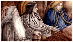 The Lord of Rivendell by peet.deviantart.com