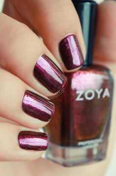 *Zoya - Valerie (Flame/Fire  Ice Collection Holiday 2010) /