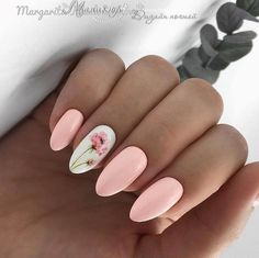 False nails have the advantage of offering a manicure worthy of the most advanced backstage and to hold longer than a simple nail polish. The problem is how to remove them without damaging your nails. Trendy Nails, Cute Nails, My Nails, Long Nails, Flower Nail Designs, Nail Art Designs, Peach Nails, Wedding Nails Design, Nail Wedding