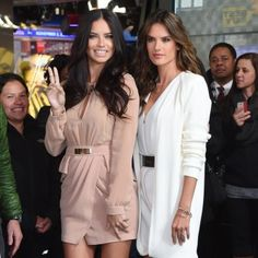 Adriana Lima and Alessandra Ambrosio on GMA - Bra Talk with Victoria's Secret Models