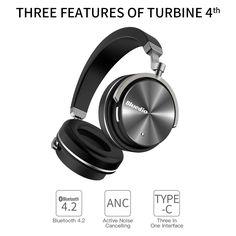 Bluedio T4, un casque avec annulation de bruit au prix de 29.54€ :)