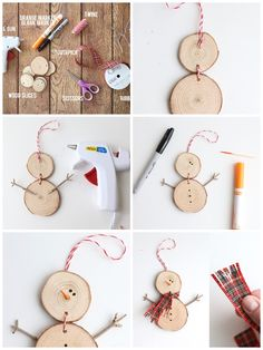 ▷ 1001 + Ideas and instructions on Christmas crafts - Bastelarbeiten - Weihnachten Winter Crafts For Kids, Kids Crafts, Diy And Crafts, Kids Christmas, Xmas, Christmas Ornaments, Christmas Trees, Handmade Christmas Decorations, Holiday Crafts