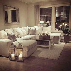 Decoração, Sala de estar ❤
