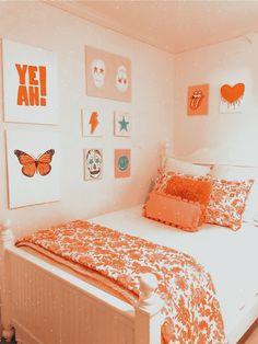 Cute Bedroom Ideas, Cute Room Decor, Room Ideas Bedroom, Teen Room Decor, Bedroom Decor, Bedroom Inspo, Dorm Room Designs, Aesthetic Room Decor, Cozy Room