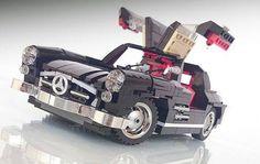 LEGO Mercedes gullwing