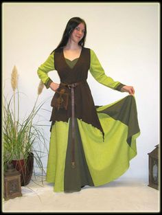 Dress Geren (I'd make it two shades of blue with a black tunic. Perfect for Fury.)