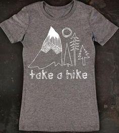 Take A Hike Women's Tee