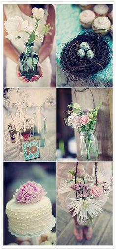 Romantic Country wedding theme