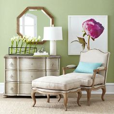 Wisteria - Mirrors & Wall Decor - Shop by Category - Mirrors - Gilded Octagon Mirror - $299.00