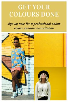 Sign up to an online colour analysis now to get your own personalised colour palette and to find out which colours suit you best! Online Coloring, Personal Stylist, Fashion Online, You Got This, How To Find Out, Palette, Suit, Colours, Pallets