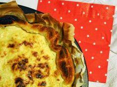 Carnet de recettes #7 : Quiche aux courgettes - comté • Hellocoton.fr