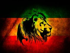 Lion Jamaica Flag