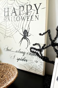 My kind of holiday decorations.     From the Just a Girl blog.