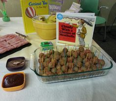 Bookworm birthday party -Cloudy With a Chance of Meatballs
