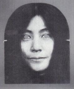 Yoko Ono Mask by George Maciunas, 1970