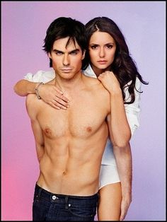 Damon and Elena need to be together.