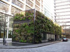Green Wall at New Street Square in London