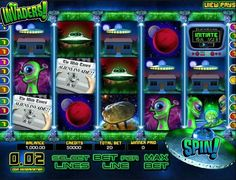 Have fun playing the Invaders 3D video slots game for free or for money, as long as you want at 1OnlineCasino.com