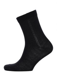 Мужские носки черного цвета, хлопок