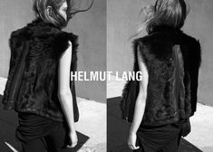 Melina Gesto is captured by Marton Perlaki for Helmut Lang Spring/Summer 2015 Ad Campaign.