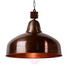 Industriell hengelampe Rana i kobber Ceiling Lights, Oui Oui, Lighting, Home Decor, Bed Reading Light, Bedroom Table Lamps, Copper, Decoration Home, Room Decor