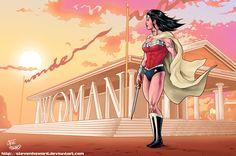 Wonder Woman ala Eisner.