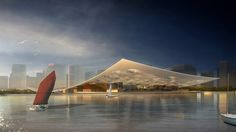 National Maritime Museum Competition Entry / Holm Architecture Office (HAO) + AI | Tianjin in Northern China