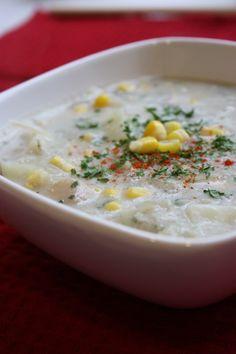 lactose free potato soup!