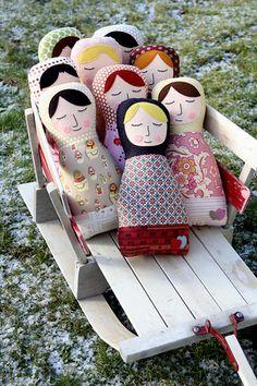 cute russian soft dolls?