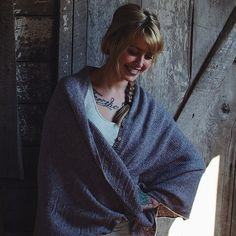 Yoga Shawl Pattern – Knit Purl