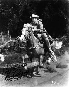 Roy Rogers and Trigger.  No one could sit a horse like Roy!