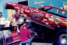 Jungle Jim & Pam Funny Car