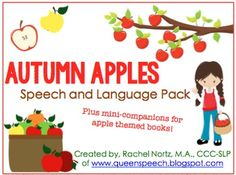 $4.00 Apple Theme Unit! Perfect for September and October months when apples are in season and ripe for the picking! Includes two mini-companions for the following books: Apples, by Gail GibbonsApple Farmer Annie by, Monica Wellington38 pages of apple themed fun!